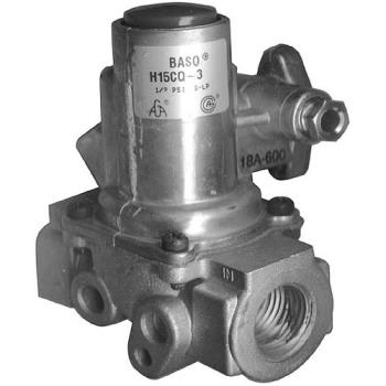 "541157 - Nieco - 2123 - 3/4"" BASO Gas Safety Valve w/ 1/4"" Pilot In/Out Product Image"