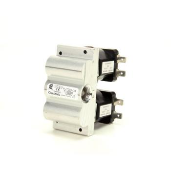 8002447 - Baker's Pride - R3201A - Dual XG-S Solenoid Gas Valve Product Image
