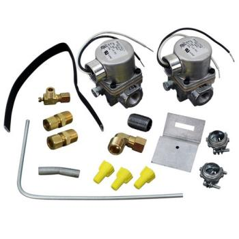 "541038 - Commercial - 3/8"" 120V Natural/ LP Gas Dual Solenoid Valve Kit Product Image"