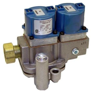 "541096 - Duke - 600107 - 1/2"" 120V Natural Gas Dual Solenoid Valve Product Image"