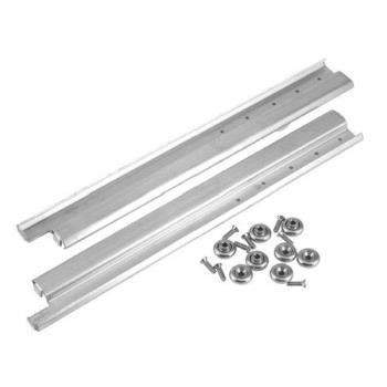 36371 - CHG - S52-0022 - 22 in Stainless Steel Drawer Slides Product Image