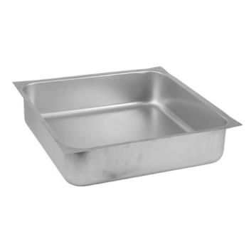 36393 - Kason® - 67102004120 - 7102 20 in x 20 in Stainless Steel Drawer Pan Product Image
