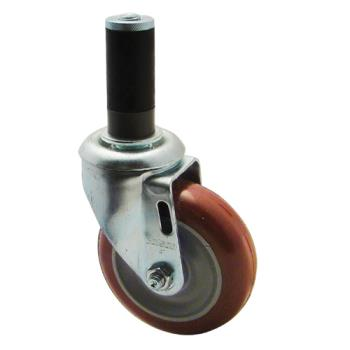 1296 - Commercial - 1 in Expanding Stem Caster w/ 4 in Wheel Product Image