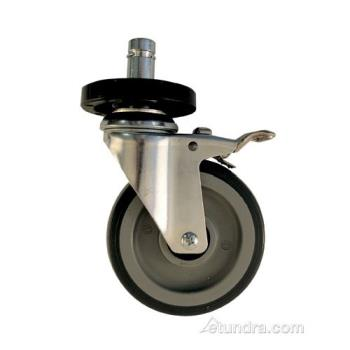 1038 - Commercial - Caster w/ Bumper & Brake Product Image