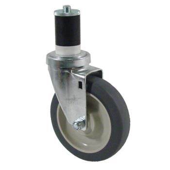 35255 - CHG - CMS4-5RPB - 1 5/8 in Expanding Stem Caster with 5 in Wheel Product Image