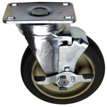 262379 - Allpoints Select - 262379 - 5 in Swivel Plate Caster w/ Brake Product Image