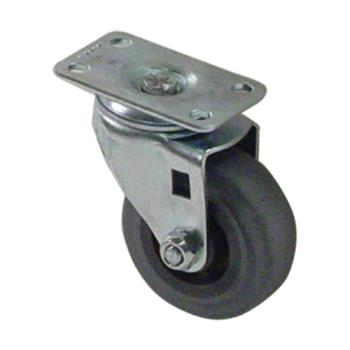 35412 - Commercial - 75 lbs Swivel Plate Caster With 2 in Wheel Without Brake Product Image