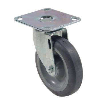 35590 - Commercial - Extra Heavy Duty Large Swivel Plate Caster With 5 in Wheel Product Image