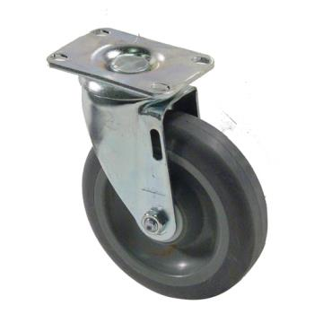 35575 - Commercial - Extra Heavy Duty Swivel Plate Caster With 5 in Wheel Product Image