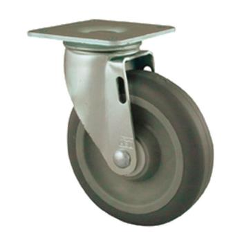 35551 - Commercial - Heavy Duty Swivel Plate Caster With 5 in Wheel Product Image