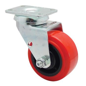 35542 - Commercial - Swivel Plate Caster With 4 in Wheel Product Image
