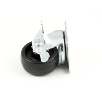 DEL3234148 - Delfield - 3234148 - 2 in Swivel Plate Caster with Brake Product Image