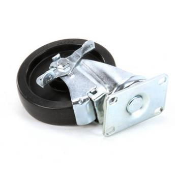 DELDEL3234199 - Delfield - 3234199 - 5 in Swivel Plate Caster with Brake Product Image