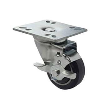 FCPFPCST3 - Focus - FPCST3 - 4 in x 4 in Plate Caster Set with Brakes Product Image