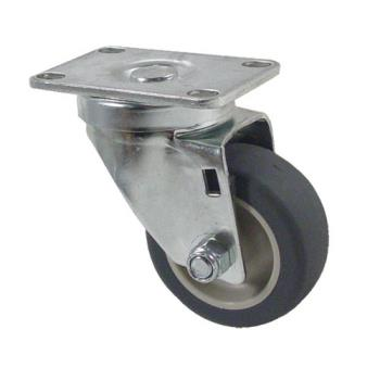 35530 - Kason - 6C523001PPPG - Heavy Duty Swivel Plate Caster With 3 in Wheel Product Image