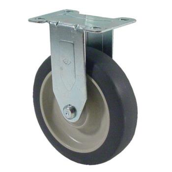 35562 - Kason - 6C5250R01PPPG - Heavy Duty Rigid Plate Caster With 5 in Wheel Product Image