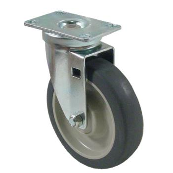 35560 - Kason - C525001PPPG - Heavy Duty Swivel Plate Caster With 5 in Wheel Product Image