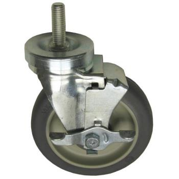 262423 - Allpoints Select - 262423 - 5 in Threaded Stem Swivel Caster w/ Brake Product Image