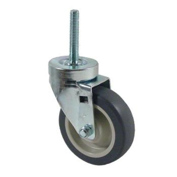 35756 - CHG - CMT1-4PPB - 1/2 in Threaded Stem Caster with 4 in Wheel Product Image