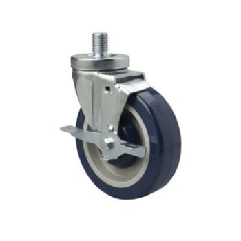 FCPFTC34105HD - Focus foo - FTC34105HD - 6 in Universal Threaded Stem Caster Set with Brakes Product Image