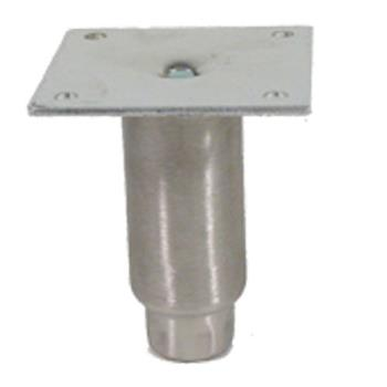 34210 - CHG - A48-5032-C - 4 in Stainless Steel Plate Mount Leg Product Image