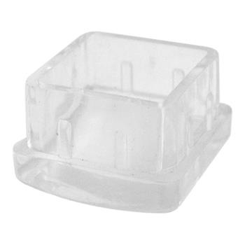 32402 - Commercial - 1 1/4 in Square Plastic End Cap Product Image