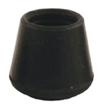"32204 - Commercial - Black 3/4"" Round Outside End Cap Product Image"