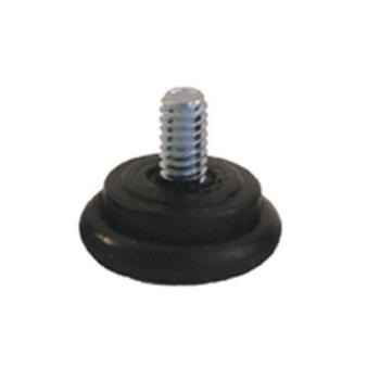 "32105 - Commercial - Table Leveler w/ Plastic Base & 1/4"" 20 Thread x 1/2"" Stud Product Image"