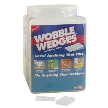 36357 - Wobble Wedge - 300 - 300 White Wobble Wedges Product Image