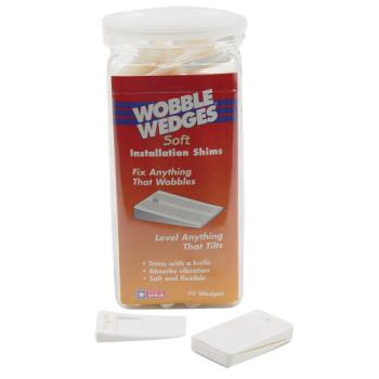 36354 - Wobble Wedge - 7075 - 75 Soft White Wobble Wedges  Product Image
