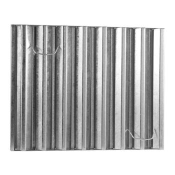 31360 - Flame Gard - 451620 - Frameless 16 in (H) x 20 in (W) Galvanized Hood Filter Product Image