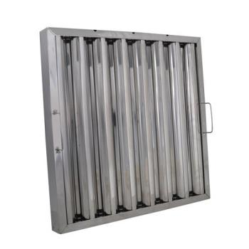 99238 - BK Resources - BKGF-1220-4SH - 20 in x 12 in Stainless Steel Hood Filter Product Image