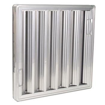 31260 - CHG - FR51-1620 - 16 in (H) x 20 in (W) Stainless Steel Hood Filter Product Image
