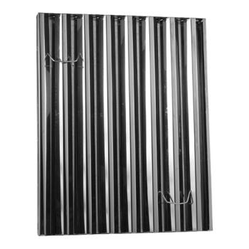 31450 - Flame Gard - 302520 - Frameless 25 in (H) x 20 in (W) Stainless Steel Hood Filter Product Image