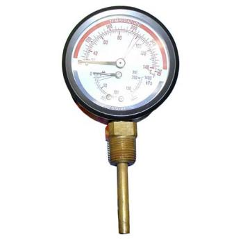 621004 - Commercial - 0 - 200 PSI Pressure/Temperature Gauge Product Image