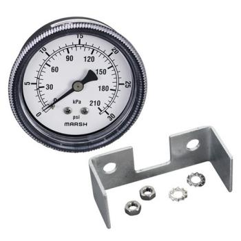 "621026 - Commercial - 2 1/2"" Pressure Gauge  Product Image"