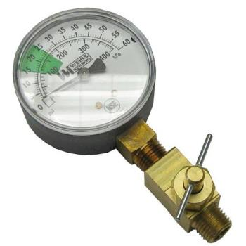 621084 - Stero - P65-1136 - 0 - 60 PSI Pressure Gauge Product Image