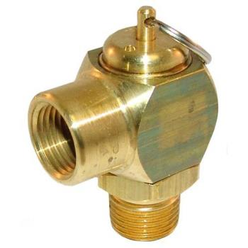 "26175 - Cleveland - KE54941-5 - 50 PSI 1/2"" Steam Safety Valve Product Image"