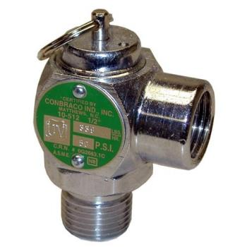 "561249 - Groen - 097005 - 50 PSI 1/2"" Steam Safety Relief Valve Product Image"