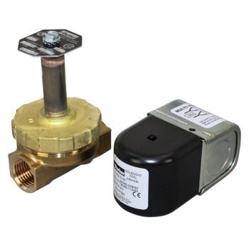"26947 - Cleveland - 44095 - 1/2"" 120/240V Hot Water Solenoid Valve Product Image"
