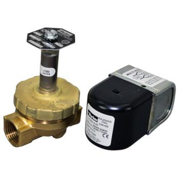 "581025 - Commercial - 1/2"" 120/240V Hot Water/Steam Solenoid Valve Product Image"