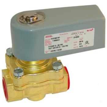 "26176 - Commercial - 3/4"" 120V Hot Water Solenoid Valve Product Image"