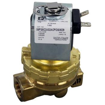 581074 - Original Parts - 581074 - 3/8 in 120V Steam Solenoid Valve Product Image