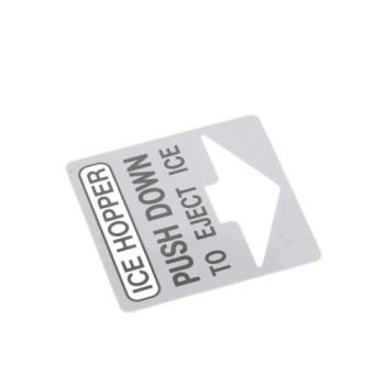 8006719 - Scotsman - 15-0680-03 - Label Chute Grey Product Image