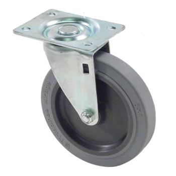 35110 - Commercial - Bus Cart Caster With 5 in Wheel Product Image