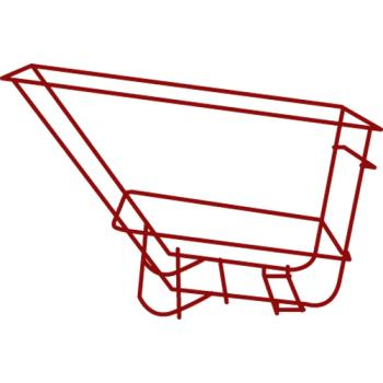 RUBFG1025L5RED - Rubbermaid - 1025-L5 - Red Tilt Truck Frame Assembly Product Image