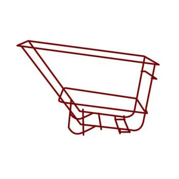 RUBFG1045L5RED - Rubbermaid - 1045-L5 - 2 1/2 sq yd Red Frame Assembly Product Image