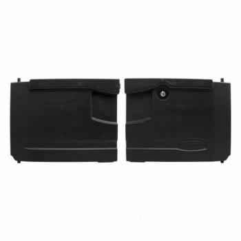 69238 - Rubbermaid - 4094-L1 - Black Utility Cart Door Kit with Lock Product Image