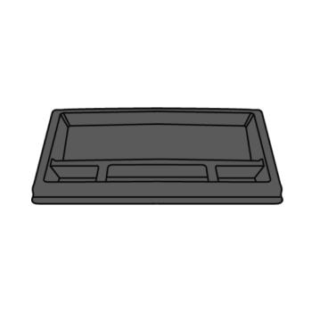 RUBFG4094L4LGRAY - Rubbermaid - 4094-L4 - Gray Utility Cart Drawer Product Image