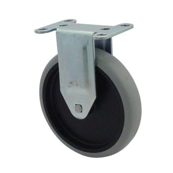 35114 - Rubbermaid - 4501-L1 - 5 in Rigid Plate Caster Product Image
